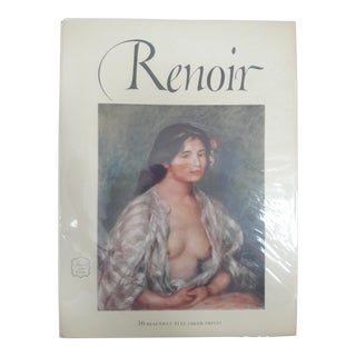 Renoir Art Book With Prints, 1952