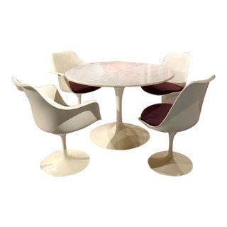 Restored Mid-Century Saarinen Dining Set - S/5