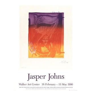 "Jasper Johns ""Number 7"" 1990 Poster"