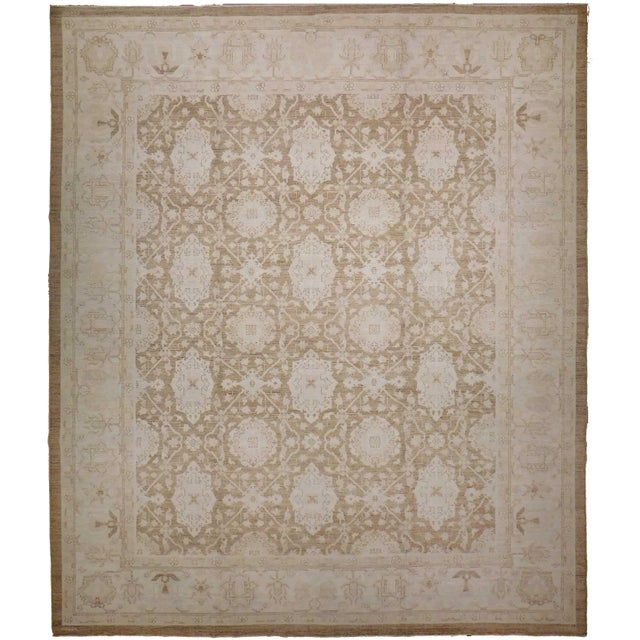 Agra Design Hand-Knotted Luxury Rug - 8′1″ × 9′11″