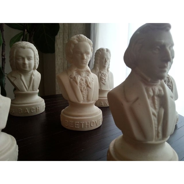 Famous Composer Busts - Set of 6 - Image 3 of 9