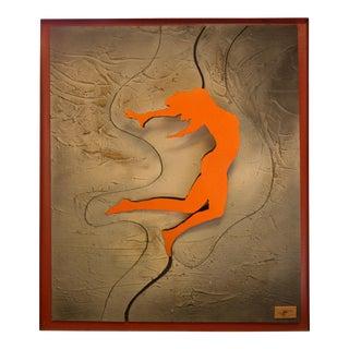 Signed Mixed Media Sculptural Artwork