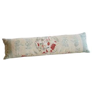 Vintage Chinoiserie Lumbar Pillow