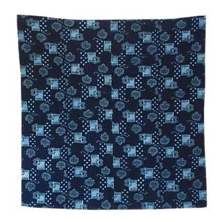 Antique Japanese Kasuri Futonji Textile
