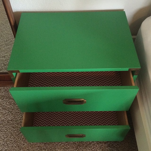 Dixie Campaign Nightstands - Pair of Two - Image 3 of 8