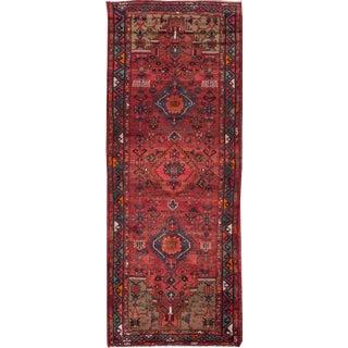 "Apadana - Vintage Persian Hamadan Rug, 3'5"" x 9'5"""