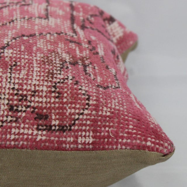 Turkish Handmade Kilim Pillow - Image 5 of 5
