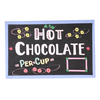 Hot Chocolate Sign