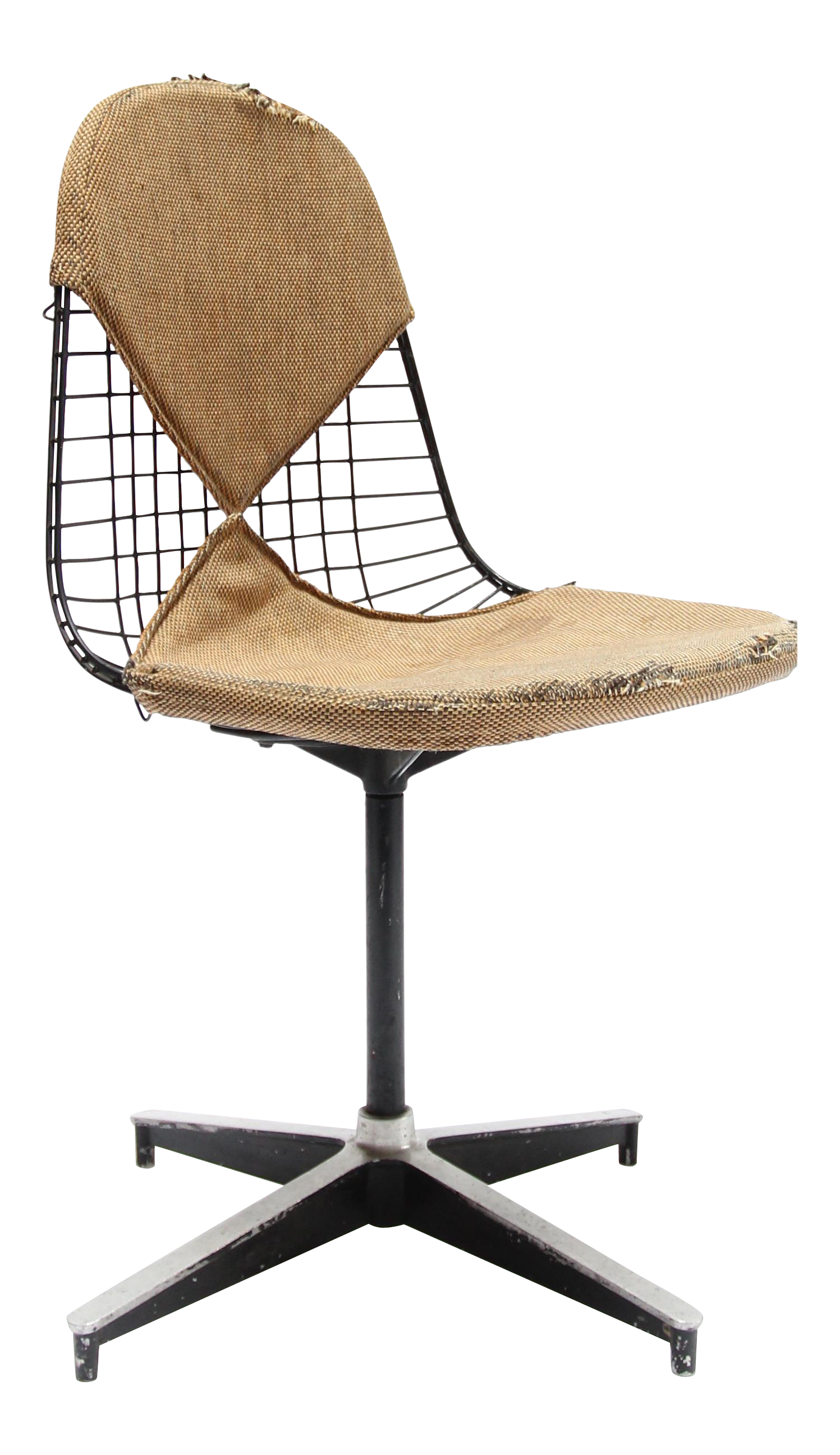 Vintage Eames Wire Side Chair   Image 1 Of 9
