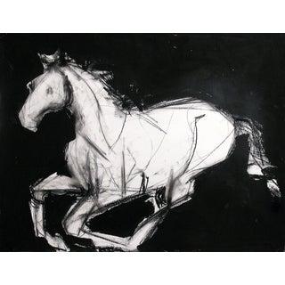 Horse Running I by Heidi Lanino