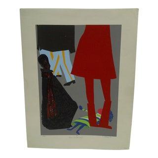 """""""Queens Guards & Girl III"""" Print"""