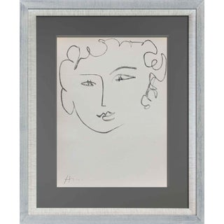 Henri Matisse Original Signed Limited Ed. 237 Lithograph