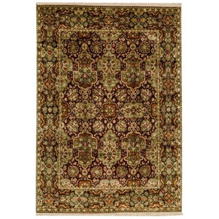 "Traditional Agra Design Rug - 8'10"" x 12'6"""
