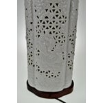 Image of Seyei Blanc De Chine Reticulated Porcelain Lamp