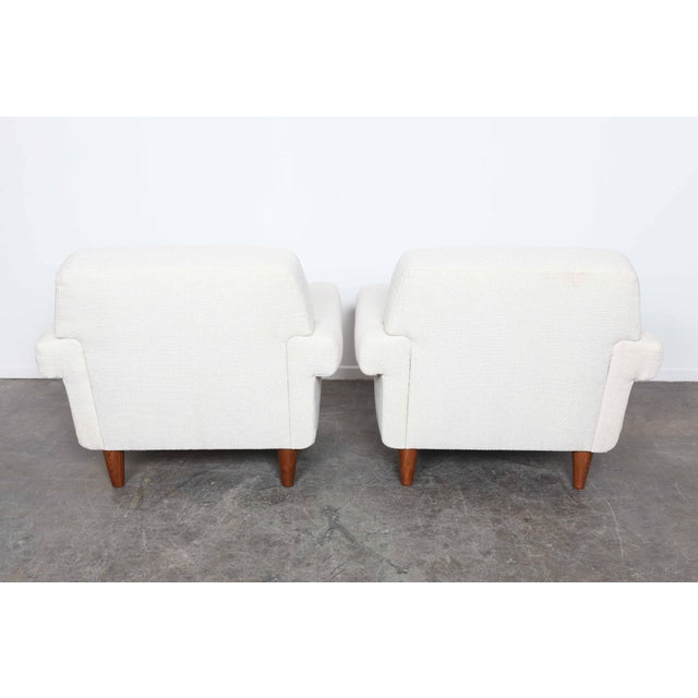 Pair of newly upholstered Swedish midcentury lounge chairs by Ire Mobel - Image 3 of 6