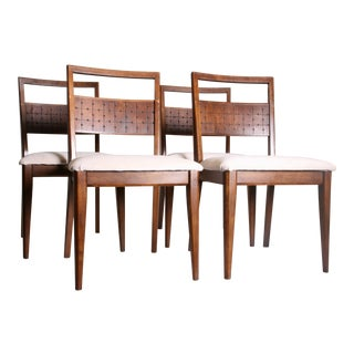 Mid Century Modern Broyhill Saga Dining Chairs - Set of 4