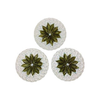 Villeroy & Boch Reticulated Majolica Plates- Set of 3