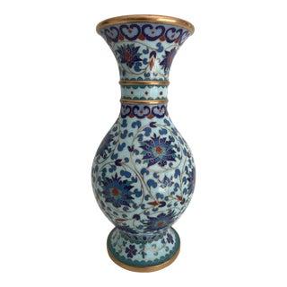 Vintage Floral Vase From Israel
