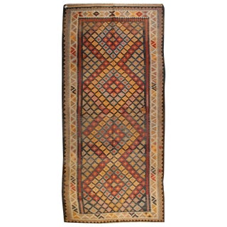 Early 20th Century Saveh Kilim Runner
