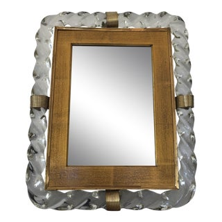 Barovier and Toso Table Mirror