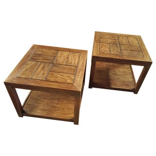 Drexel Heritage End Tables - a Pair