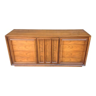 United Furniture Co. Mid-Century Walnut Dresser