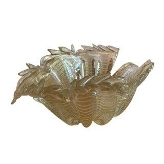1940's Mid-Century Barovier & Toso Murano Glass Bowl