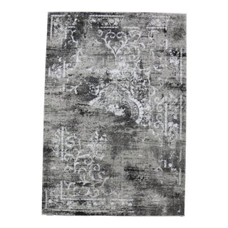 Hipster Distressed Persian Rug Gray 5'3''x 7'7''
