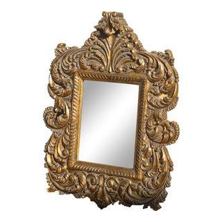 Vintage Rococo Flourishes Wall Mirror