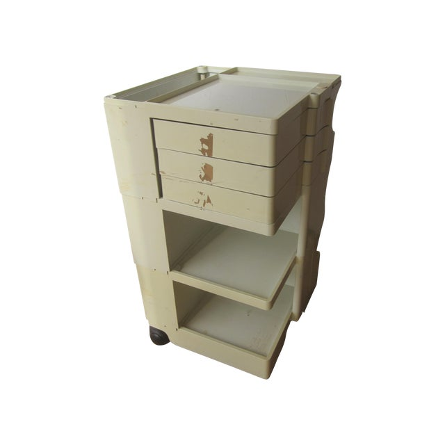Mid Century Modern Taboret Cart Trolley - Image 1 of 9