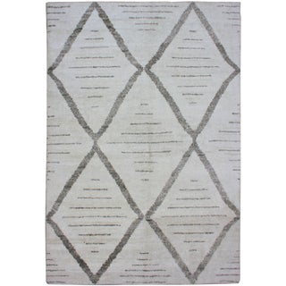 """Aara Rugs Inc. Hand Knotted Bamboo Rug - 12'0"""" X 9'0"""""""