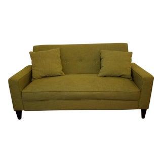 Mid-Century Style Green Sofa