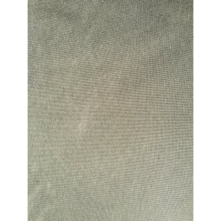 Holly Hunt Green Cotton Fabric - 5 Yards