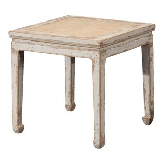 Sarreid Ltd Square Rattan Stool