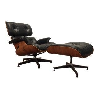 Eames Herman Miller 670-671 Rosewood Chair & Ottoman
