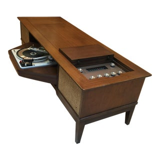 Mid-Century GE Stereo Console