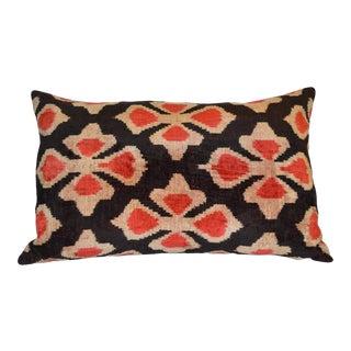 """""""Joia"""" Ikat Silk Velvet Pillow"""