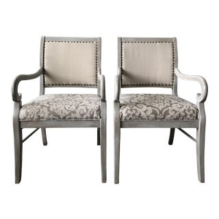 Restoration Hardware Style Chairs - A Pair