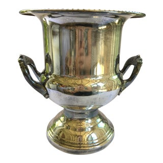 Leonard Vintage Silverplate Ice Bucket