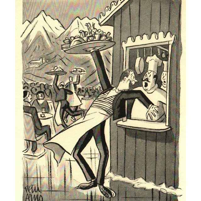 Quot Cartoon Revue Quot By Peter Arno Book Circa 1941 Chairish