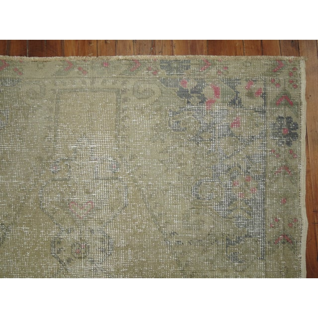 Shabby Chic Turkish Rug - 4'4'' X 7'1'' - Image 3 of 6