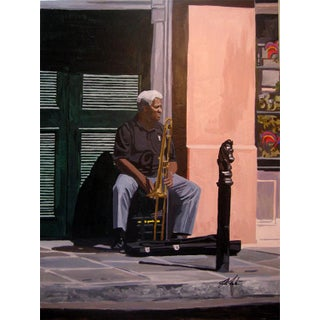 """Josh Moulton """"New Orleans"""" Giclee Print After a Painting"""