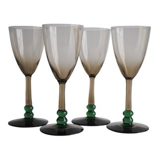 Vintage Cordial Glasses - Set of 4