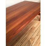 Image of Solid Teak Danish Modern Coffee Table
