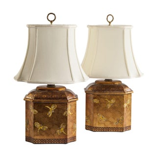 Dragonfly Lamps - A Pair