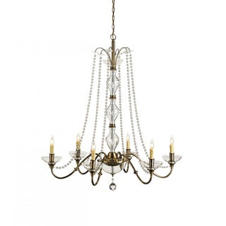 Currey & Company 6-Light Bohemia Chandelier