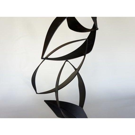 Maurizio Tempestini Style Iron Sculpture - Image 5 of 6