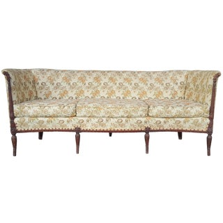 Antique Mahogany Sheraton Couch