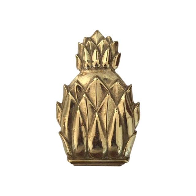 Pineapple door knocker chairish - Pineapple door knocker ...