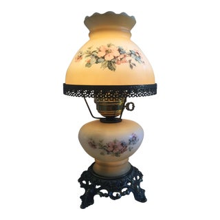 Vintage Gone With the Wind Style Hurricane Lamp